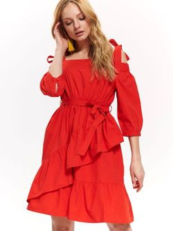 Платье TOP SECRET Оранжевый