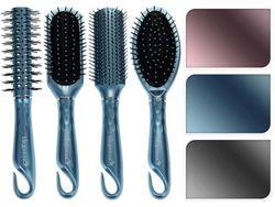 Расческа-щетка для волос (ручка-крючок), 4вида