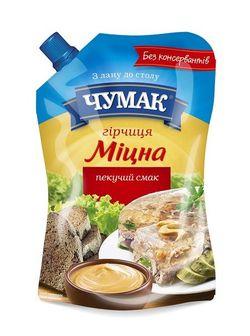 Горчица Крепкая Чумак 120 гр
