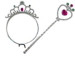Set coroana si bagheta magica