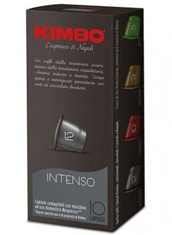 Capsule pentru aparatele de cafea Kimbo Intenso Nespresso 100 caps