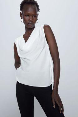Блуза ZARA Белый 3666/035/251