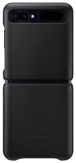 cumpără Husă telefon Samsung EF-VF700 Leather Cover Black în Chișinău
