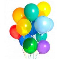 Baloane colorate 9 cm