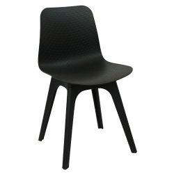 Пластиковый стул 470x450x795 мм, черный