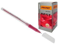 Ручка гелевая PT-1157 oil ink 0.7mm, красная