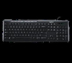 Клавиатура Logitech K200, Black