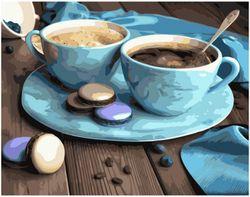 Картина по номерам 40x50 Кофе на двоих VA1652