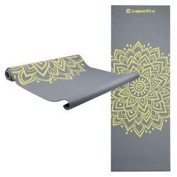 Коврик для йоги + чехол 172х61х0.3 см inSPORTline 11729 grey (3058)
