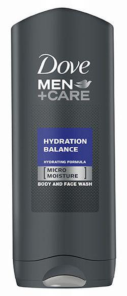 Gel de duş Dove Men Care Hydration Balance, 250 ml