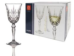 Set pahare pentru vin Melodia 6buc, 210ml