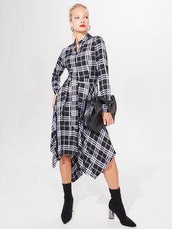 Платье MOHITO Черный в клетку wz438-99p