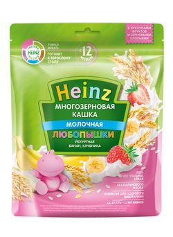 Каша Heinz йогуртная многозерновая банан, клубника 200г c 12 месяцев