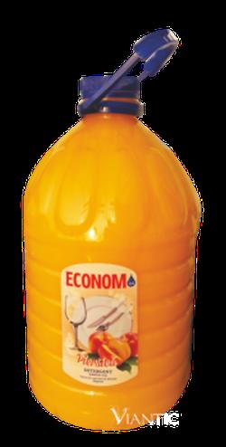 Detergent pentru vase ECONOM PEARL piersică 3L