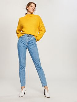 Pantaloni RESERVED Albastru tn277-50j