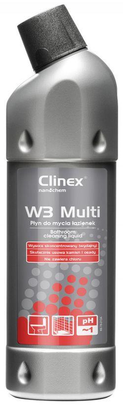 Clinex W3 Multi 1l p/toalete, băi și piscine