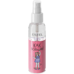 Spray-luciu pentru păr, ESTEL Little Me, 3+, 100 ml.