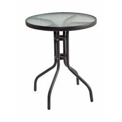 Круглый металлический стол -ANDORA