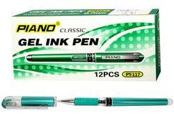 Ручка гелевая PT-117 0.5mm, зеленая (1/12)