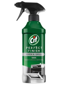 Spray pentru curățarea cuptorului Cif Perfect Finish, 435 ml