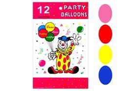 Набор шаров воздушных 12шт, разноцветные