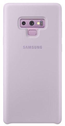 cumpără Husă telefon Samsung EF-PN960 Silicone Cover, Violet în Chișinău