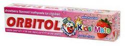 Детская зубная паста со вкусом клубники Orbitol 145 г