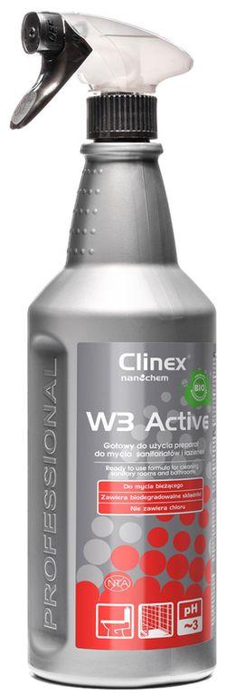 Clinex W3 Active BIO 1l p/curățarea corpurilor de baie