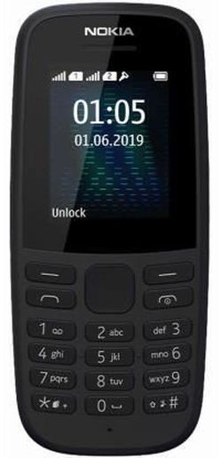 cumpără Telefon mobil Nokia 105 (2019) Black în Chișinău