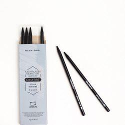 Угольный карандаш монолит Малевичъ, мягкий 1 шт.