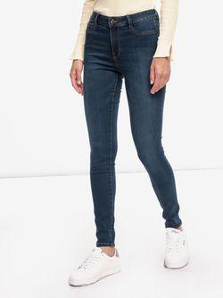 Pantaloni TOM TAILOR Albastru inchis 1012591 10282