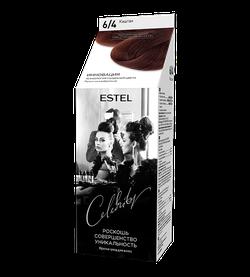 Vopsea p/u par, ESTEL Celebrity, 125 ml., 6/4 - Castan
