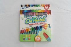 Set creioane cerate 24 culori /80