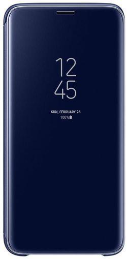 cumpără Husă telefon Samsung EF-ZG960, Galaxy S9, Clear View Standing Cover, Blue în Chișinău