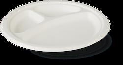 Farfurie din trestie de zahăr FRP 22-3  225*20 mm