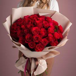 Букет из 41 розы 50-60 см