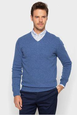 Pulover Cortefiel Albastru