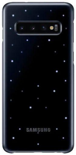купить Чехол для моб.устройства Samsung EF-KG973 LED Cover Galaxy S10 Black в Кишинёве