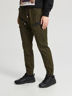 Pantaloni CROPP Verde inchis