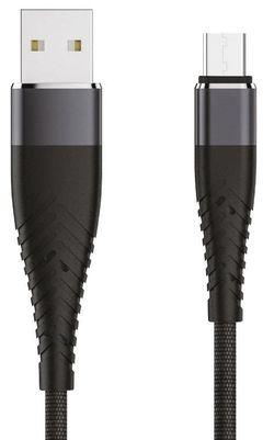 купить Кабель для моб. устройства Partner 39516 SOLID USB 2.0 - microUSB 1.2м 2.1A в Кишинёве