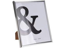 Rama foto 20X25cm, plastic, argintie