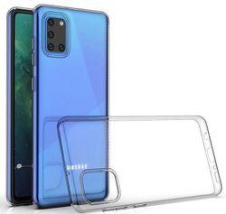 купить Чехол для моб.устройства Screen Geeks Galaxy A31 TPU ultra thin, transparent в Кишинёве