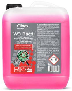 Clinex W3 Bacti 5l curățărea suprafețelor sanitare
