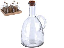 Бутылка для масла/уксуса EH 500ml, 18.5cm, с пробкой