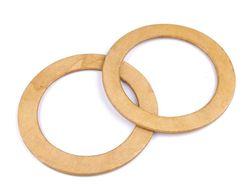 Mâner din lemn pentru geantă, Ø14 cm