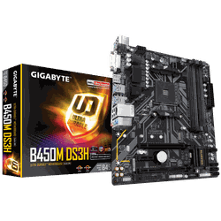 MB AM4 Gigabyte B450M DS3H V2 1.0  mATX