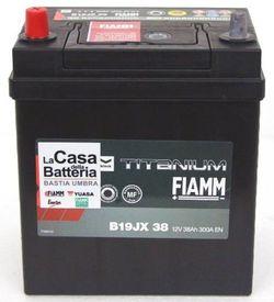 Baterie auto Fiamm Black Titanium B19JX 38 (7905162)