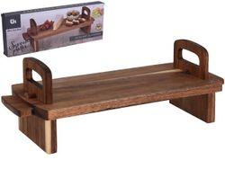 Masa- suport de servire 36Х13cm, H13cm, lemn de mango