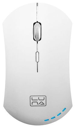 Wireless Mouse Qumo Luna, White
