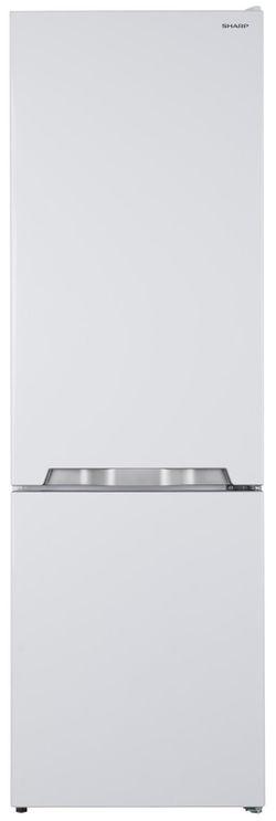купить Холодильник с нижней морозильной камерой Sharp SJBB04DTXW1 в Кишинёве